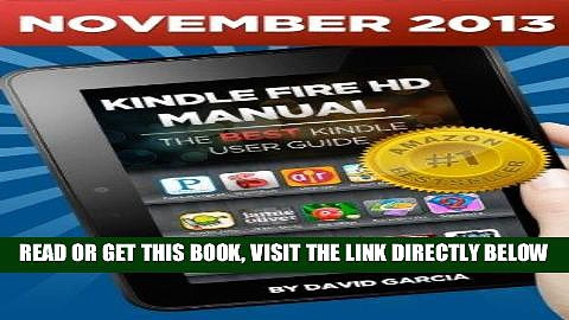 [Free Read] Kindle Fire HD Manual - Learn how to use your Amazon Tablet, Find new releases, Free