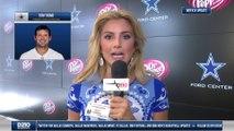 Tony Romo Throws Passes In Practice (Week 8)
