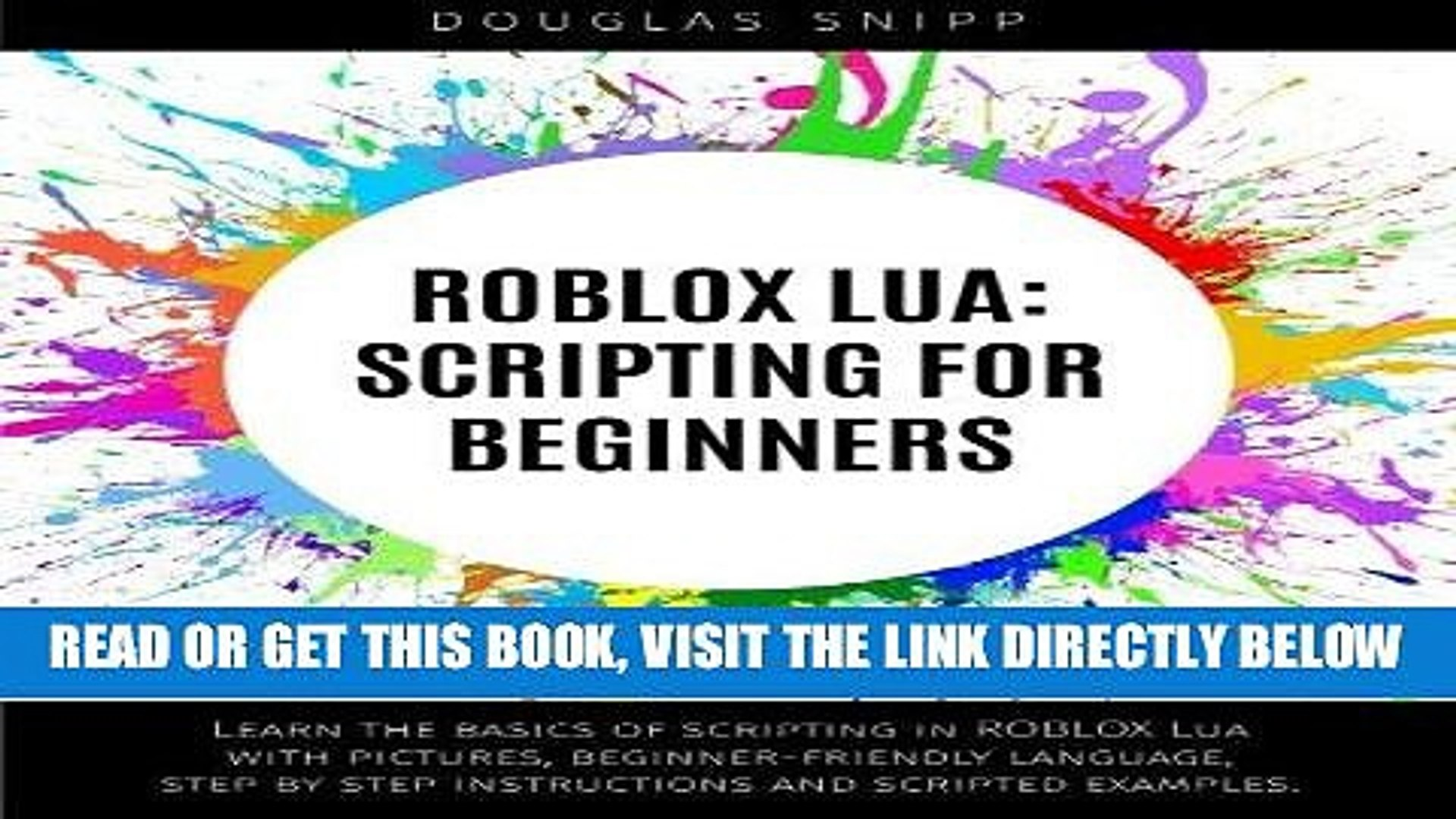 [Free Read] ROBLOX Lua: Scripting for Beginners Free Online