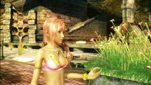 FINAL FANTASY 13-2 (HD) SEXY SERAH BEACHWEAR (21) - OERBA 200 - CAIUS BOSS & DEPARTURE