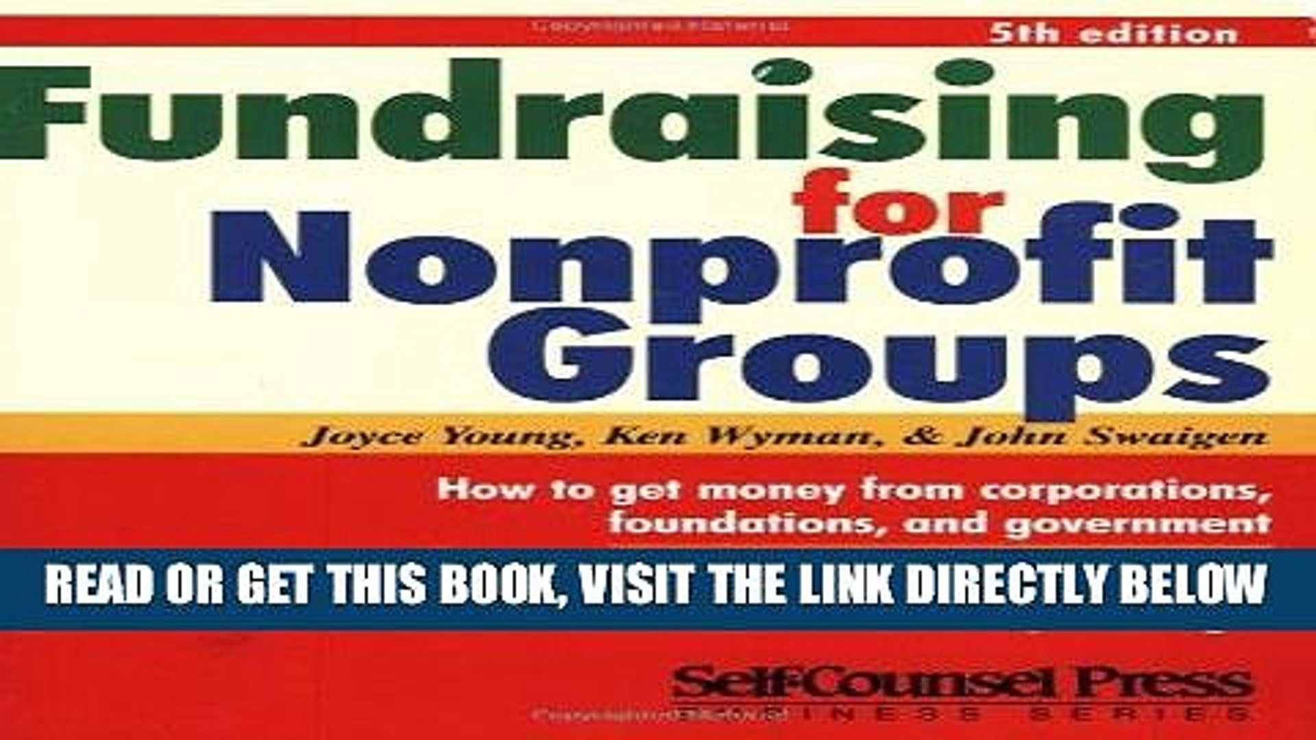 [New] Ebook Fundraising For Non-Profit Groups (Business Series) Free Online