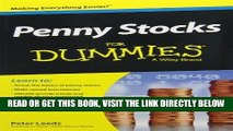 [New] PDF Penny Stocks For Dummies   Currency Trading For Dummies, 2nd Edition Bundle Free Online