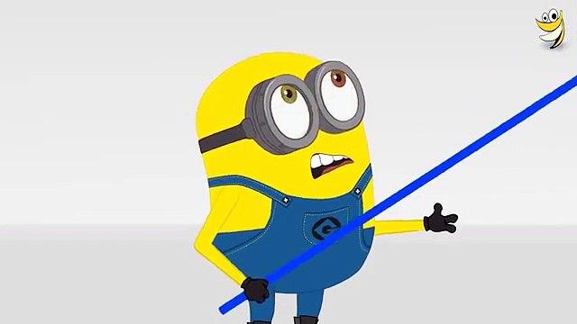 Minions Banana Balloon Strings Funny Cartoon ~ Minions Mini Movies 2016 HD 7