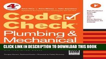 PDF Download] Code Check Plumbing & Mechanical 4th edition