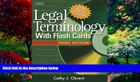 Big Deals  Legal Terminology with Flashcards (West Legal Studies)  Full Ebooks Most Wanted