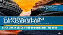 [DOWNLOAD] PDF Curriculum Leadership: Strategies for Development and Implementation Collection