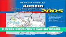 Read Now Rand Mcnally 2005 Austin: Including Georgetown and Round Rock, Streetfinder (Rand McNally