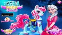 Disney Frozen Games - Elsa Pony Caring - Frozen Games For Kids Girls