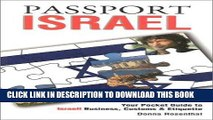 [Free Read] Passport Israel: Your Pocket Guide to Israeli Business, Customs   Etiquette (Passport
