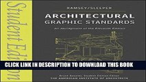 Best Seller Architectural Graphic Standards: Student Edition Free Read