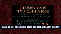 [BOOK] PDF Lessons to Share on Teaching Grammar in Context Collection BEST SELLER