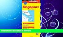 READ BOOK  Singapore Travel Map Thirteenth Edition (Periplus Travel Maps: Singapore Island   City