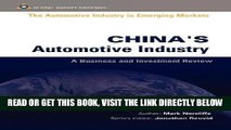 [FREE] EBOOK CHINAS AUTOMOTIVE INDUSTRY (Automotive Industry in Emerging Markets S.) BEST COLLECTION