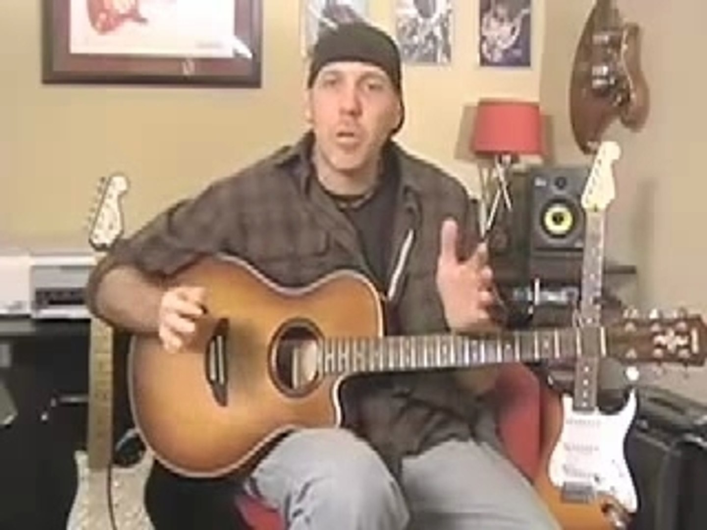 Learn Guitar Lesson Inspired By How to play guitar like Pear