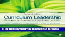 [BOOK] PDF Curriculum Leadership: Strategies for Development and Implementation Collection BEST