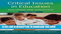 [DOWNLOAD] PDF Critical Issues in Education: Dialogues and Dialectics Collection BEST SELLER