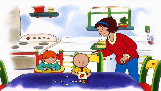 Caillou Song: Me Me Boy | Cartoon for Kids