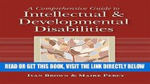 [Free Read] A Comprehensive Guide to Intellectual and Developmental Disabilities Free Online