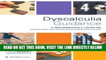 [Free Read] Dyscalculia Guidance: Helping Pupils with Specific Learning Difficulties in Maths Free