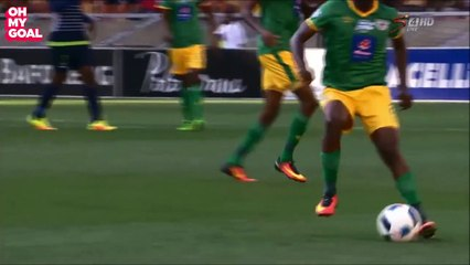 Unnecessary Dribble Of Sipho Moeti That Earned A Yellow Card