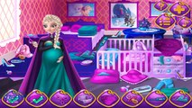 Frozen ELSA pregnant with JACK FROST - Frozen ELSA and JACK FROST have a baby