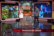 Payasos peruanos sufren 'crisis laboral' por culpa de 'payasos asesinos'
