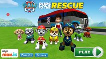 Nick Jr. Paw Patrol | Paw Patrol pups to the rescue | paw patrol games for kids