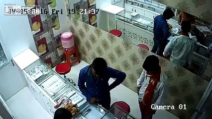 Fight for Your Life Against Two Knife_Wielding Attackers in Store