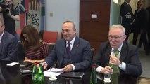 Çavuşoğlu-Ligi Görüşmesi ve Ortak Basın Toplantısı