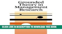 Best Seller Grounded Theory in Management Research (SAGE series in Management Research) Free