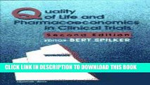 Ebook Quality of Life and Pharmacoeconomics in Clinical Trials Free Download