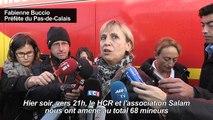 Calais: «68 mineurs» repérés mercredi soir dans le bidonville