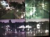 Les caméra de surveillance dans un parc d'attraction filment un fantome et c'est flippant