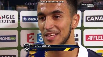 Réaction d'Ounas après son but: «ça fait plaisir de retrouver le chemin des filets»