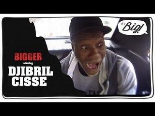"""Djibril Cissé, l'interview """"coupée décalée"""" - Bigger"""