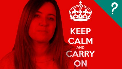 Qué significa KEEP CALM AND CARRY ON