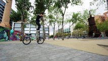 Bike Parkour 2.0 - Streets of Barcelona!-sNnbi4oLRdc