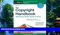 Big Deals  The Copyright Handbook: What Every Writer Needs to Know  Best Seller Books Most Wanted