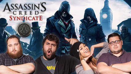 Let's Play ASSASSINS CREED SYNDICATE with The Completionist and MissesMae