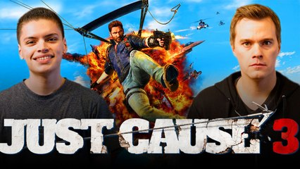 Let's Play JUST CAUSE 3 (Part 2) with RickyFTW and ArodGamez  | Smasher Let's Play