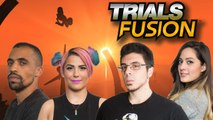 Let's Play TRIALS FUSION with TheZombiUnicorn, RecklessTortuga, ChilledChaos, and 2MGoverCsquared2