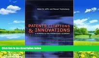 Big Deals  Patents, Citations, and Innovations: A Window on the Knowledge Economy (MIT Press)