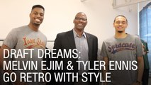 Draft Dreams: Melvin Ejim and Tyler Ennis go Retro with Style