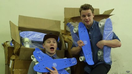 HONDERD EIGEN SKATE BOARDS! - #15 World Of Cinemates