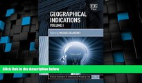 Big Deals  Geographical Indications (Critical Concepts in Intellectual Property Law series, #11)