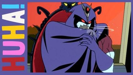 Super Villain Ruins His Invisibility Cloak! | Evil Guy