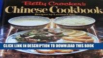 [New] Ebook Betty Crocker s Chinese Cookbook Free Read