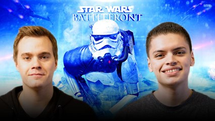 Let's Play STAR WARS BATTLEFRONT with RickyFTW and ArodGamez  | Smasher Let's Play