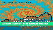 [PDF] Why Stock Markets Crash: Critical Events in Complex Financial Systems Full Collection