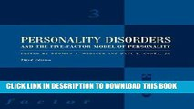 Best Seller Personality Disorders and the Five-Factor Model of Personality Free Read